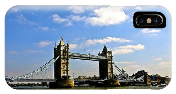 Royal London Bridge IPhone Case