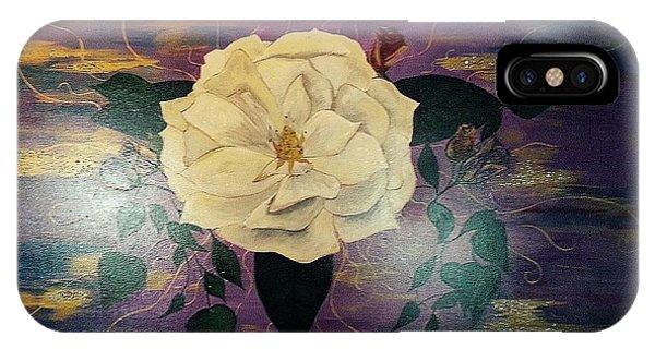 Royal Majestic Magnolia IPhone Case