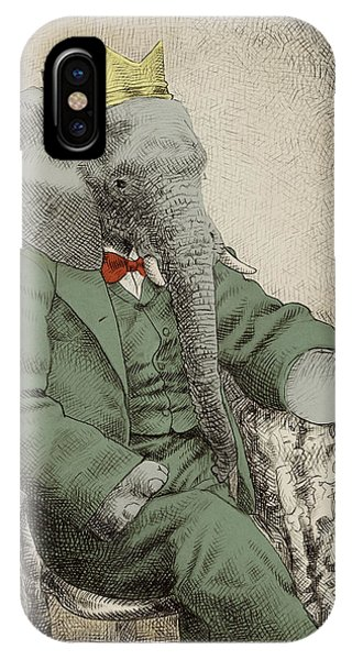 Animals iPhone Case - Royal Portrait by Eric Fan