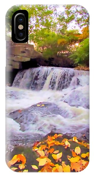 Royal River White Waterfall IPhone Case