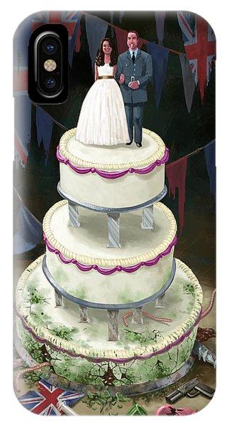 Royal Wedding 2011 Cake IPhone Case