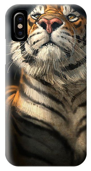Tiger iPhone Case - Royalty by Aaron Blaise