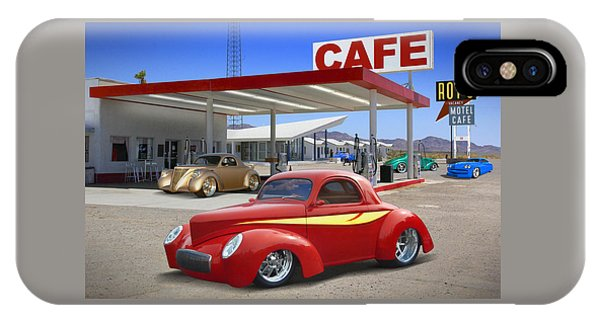 Gas Station iPhone Case - Roy's Gas Station 2 by Mike McGlothlen