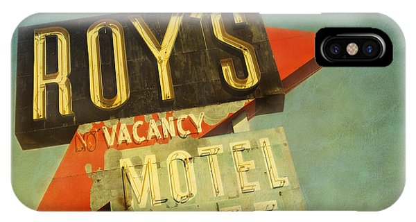 Roy's Motel And Cafe IPhone Case