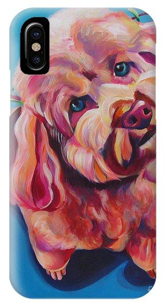 Rozzie In Pink IPhone Case