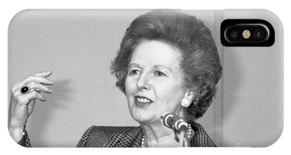 Rt.hon. Margaret Thatcher IPhone Case