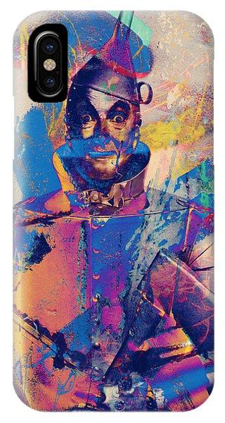 Rubber Tin Man  IPhone Case