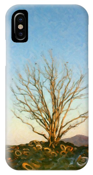 Rubber Tree IPhone Case