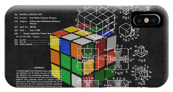 Rubik's Cube Patent 3 IPhone Case