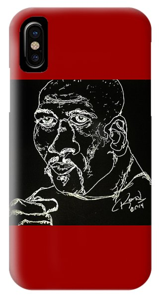 Rubin Hurricane Carter IPhone Case