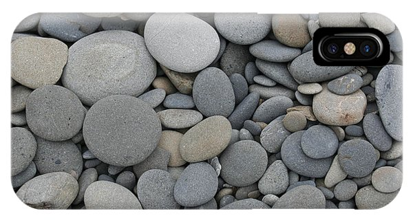 Ruby Beach Pebbles IPhone Case