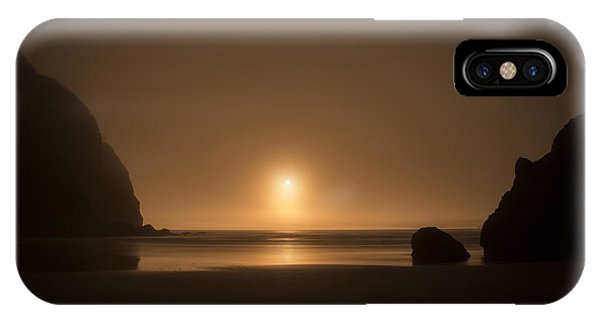 Ruby Beach Sunset IPhone Case