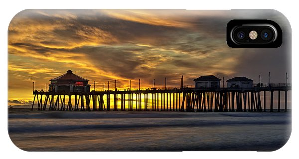 Ruby's At Surf City IPhone Case