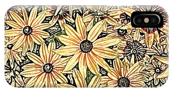 IPhone Case featuring the photograph Rudbeckia - Rudbeckie by Nature and Wildlife Photography