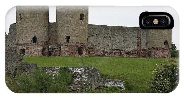 Ruddlan Castle 2 IPhone Case