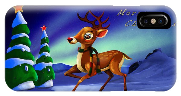Rudolph IPhone Case