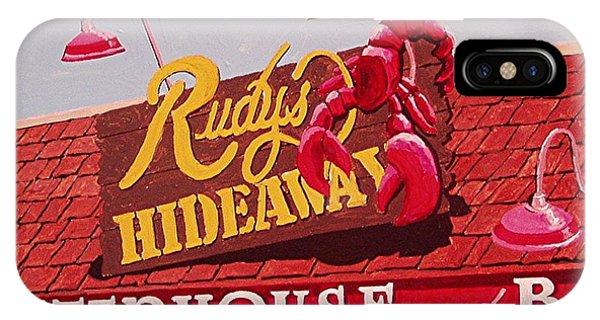 Rudy's Hideaway Phone Case by Paul Guyer