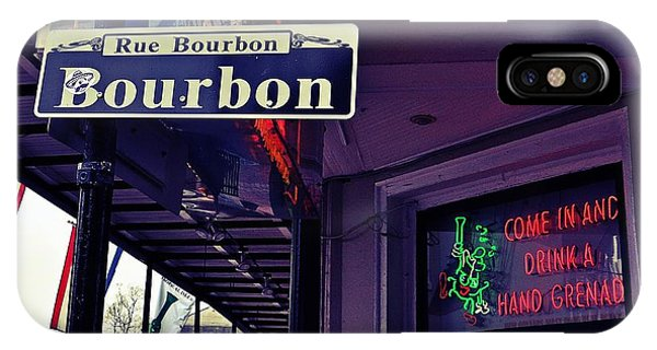 Rue Bourbon Street IPhone Case