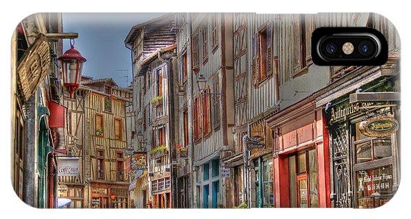 Rue De La Boucherie IPhone Case
