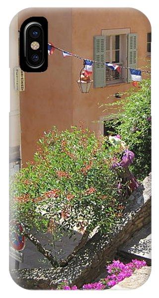Rue De La Rose IPhone Case