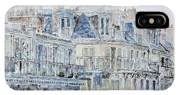 French Artist iPhone Case - Rue Du Rivoli Paris by Anthony Butera