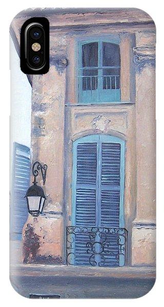 Rue Espariat Aix-en-provence IPhone Case