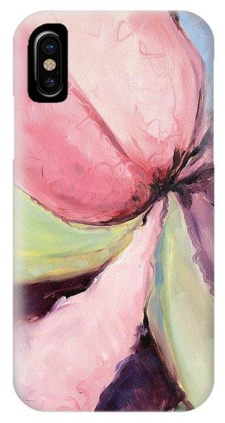 Ruffled Amaryllis IPhone Case