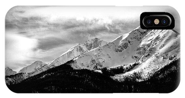 Rugged Winter Peaks IPhone Case