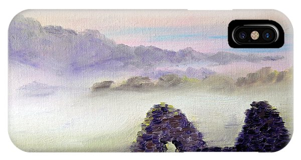 Ruin Above The Mist IPhone Case