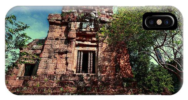 Ruin At Angkor IPhone Case