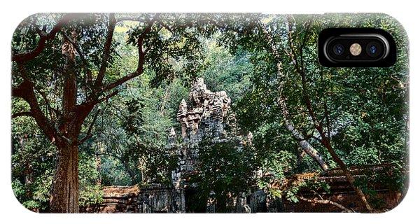 Ruin At Angkor Wat IPhone Case
