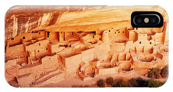 Indian Village iPhone Case - Ruins, Cliff Palace, Mesa Verde by Panoramic Images
