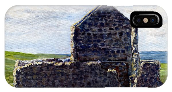 Ruins In Tasmania On The Sea Shore IPhone Case