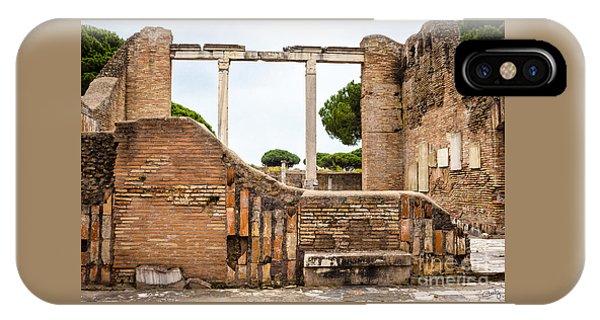 Ruins Of Ostia Antica IPhone Case