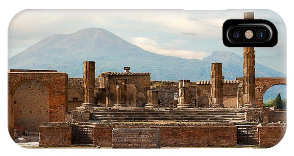 Ruins Of Pompeii IPhone Case