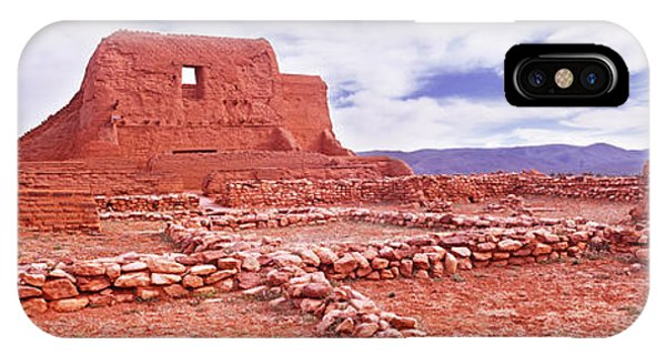 San Miguel iPhone Case - Ruins Of The Mission, Pecos National by Panoramic Images