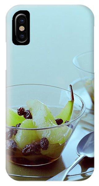 Rum Raisin Poached Pears IPhone Case