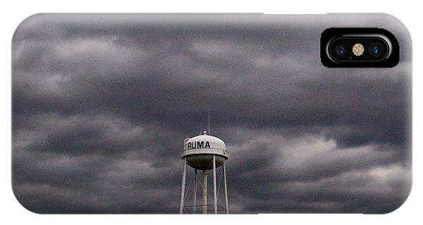 Ruma Illinois Water Tower IPhone Case