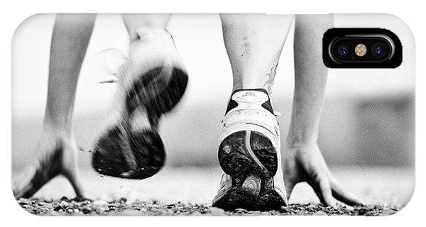 Runner Phone Case by Heidi Bartsch