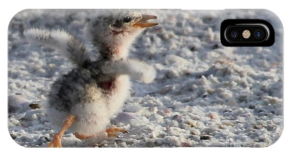 Running Free - Least Tern IPhone Case