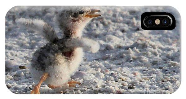 Running Free - Least Tern IPhone Case