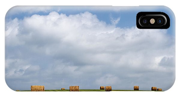 Rural America - A View From Kansas Country Roads IPhone Case
