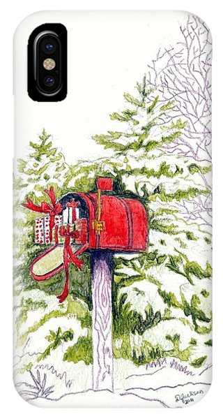 Country Living Christmas Delivery IPhone Case