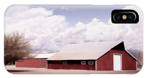 Rural Highway 99 IPhone Case