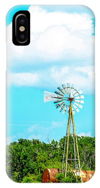 Rural Texas IPhone Case
