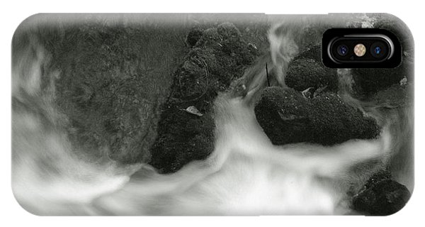 IPhone Case featuring the photograph Rush Around The Rocks by Michael Kirk