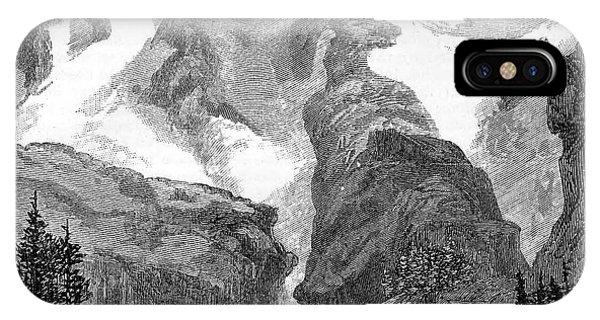 Rush Creek Glacier Phone Case by Universal History Archive/uig