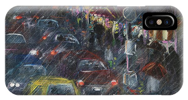 Rush Hour Rain  IPhone Case