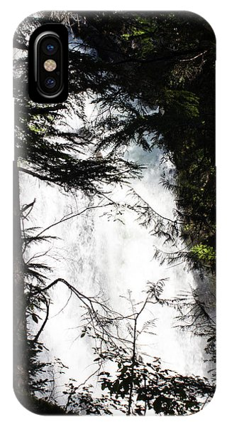 Rushing Through The Trees IPhone Case