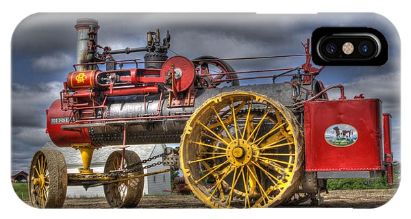 Russell Steam IPhone Case